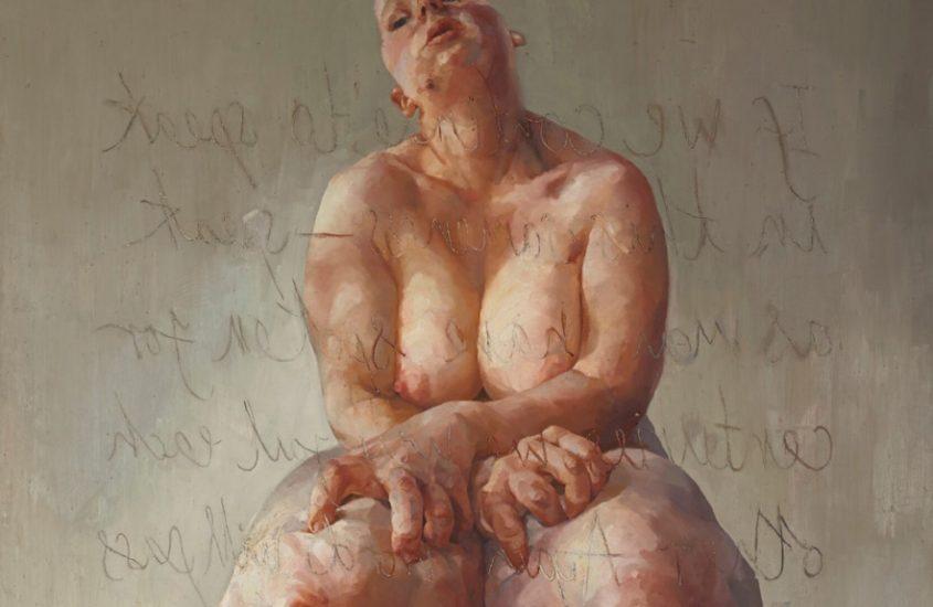 Jenny Saville, Propped, 1992 © Sotheby's