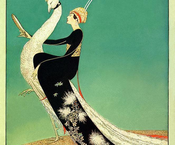 George Plank, copertina Vogue, aprile 1918