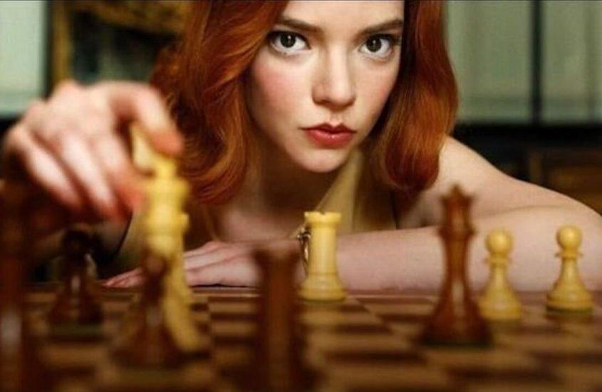 La regina di scacchi. Fonte: Cinematographe