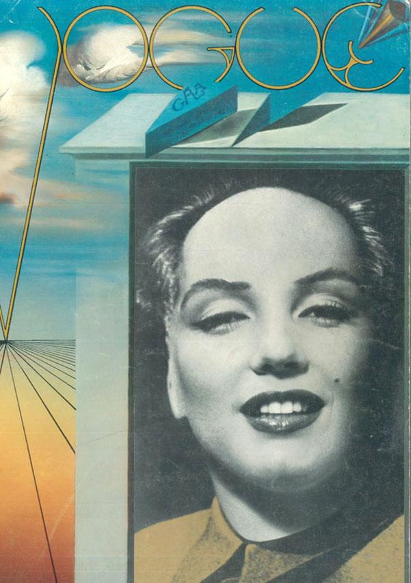 Salvador Dalì, copertina Vogue Paris, numero di natale 1971. Image Cretits: Ideanow.online