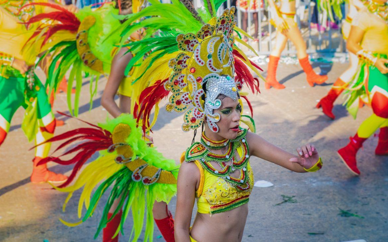 Ballerine colombiane. Carnevale di Barranquilla