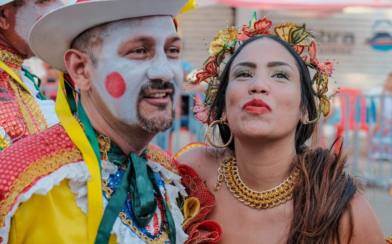 Giovanne coppia. Carnevale di Barranquilla